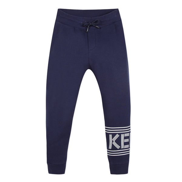Navy blue jogger pants