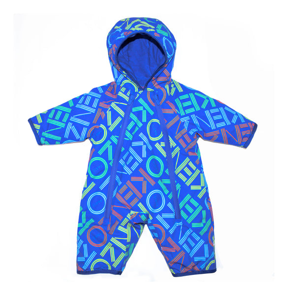 Blue snowsuit