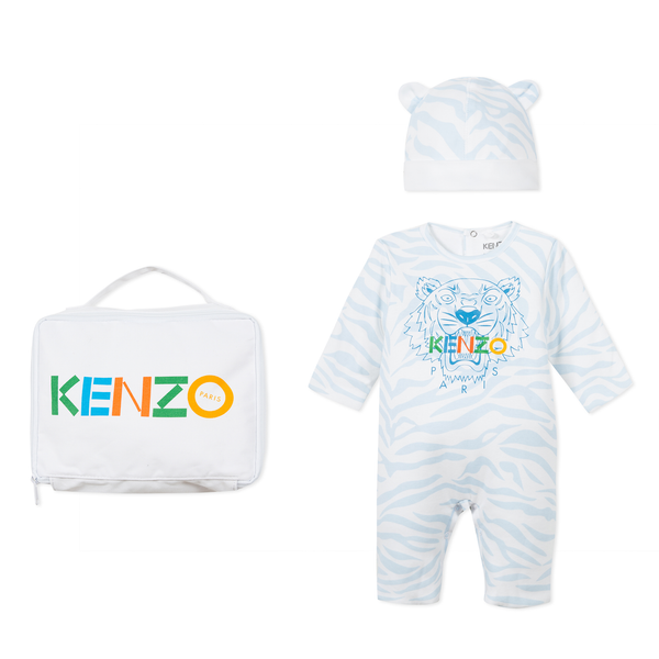 *NEW* Set of blue baby hat and matching jumpsuit