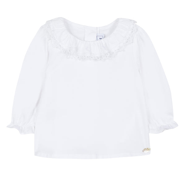 Baby girl white shirt