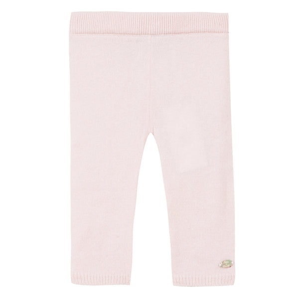 Baby girl blush pink leggings