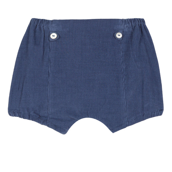 Baby boy bright blue shorts