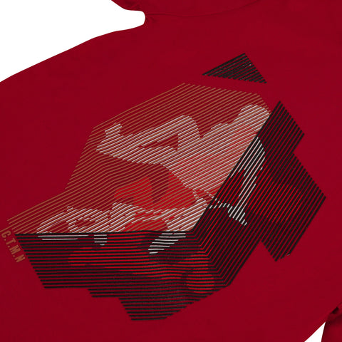 *NEW*  Red T-shirt with skater visual