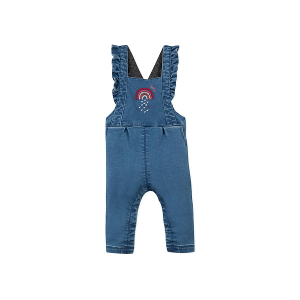 *NEW* Denim overall with ruffles