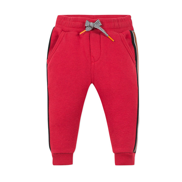 *NEW* Red fleece jogger pants