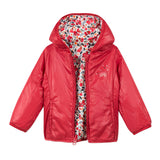 *NEW* Reversible padded red and printed jacket