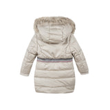 Mid length puffa jacket