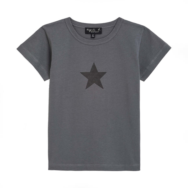 Grey star pirate t-shirt