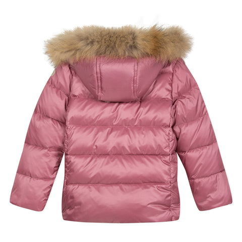 Old pink puffer jacket