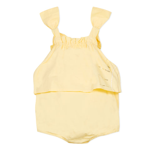 Yellow bubble overall