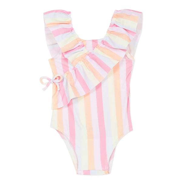 1-pc coral swimsuit