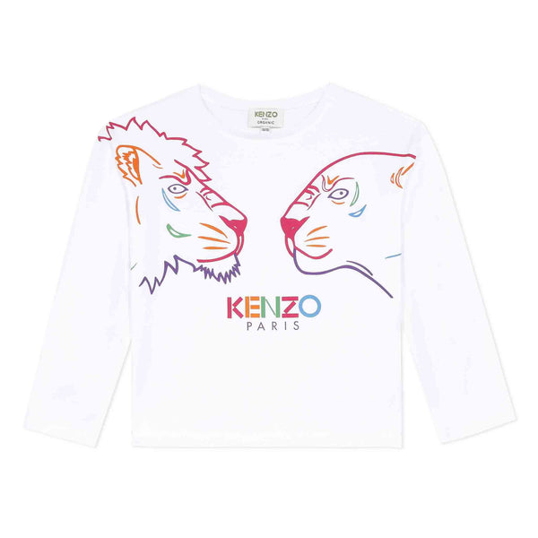 *NEW* White T-shirt with iconic animals