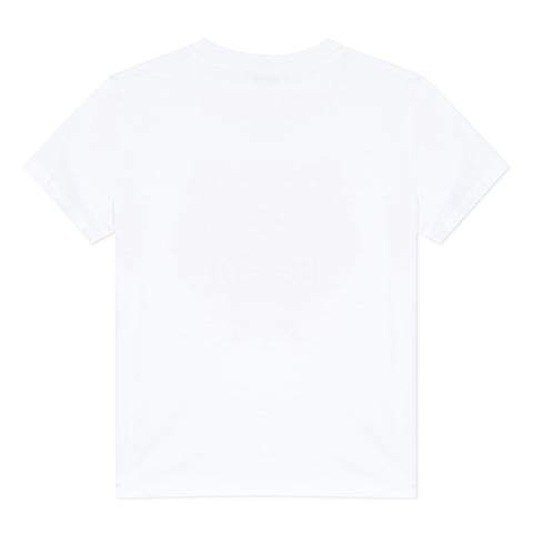 White T-shirt with tiger icon