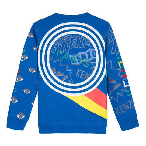 Electric blue sweatshirt