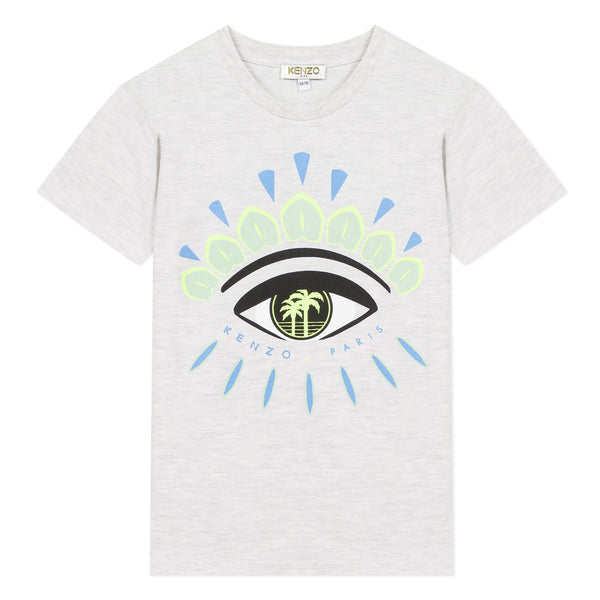 White T-shirt with iconic eye