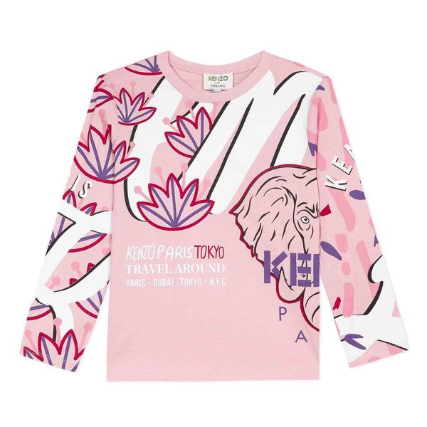 *NEW* Pink T-shirt with elephant