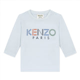 *NEW* Sky blue T-shirt with logo