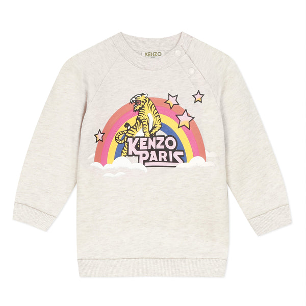 Ecru rainbow sweater