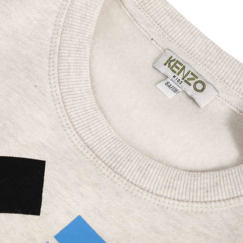 *NEW* Beige sweatshirt with logo