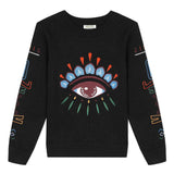 *NEW* Black sweater with iconic Kenzo Eye