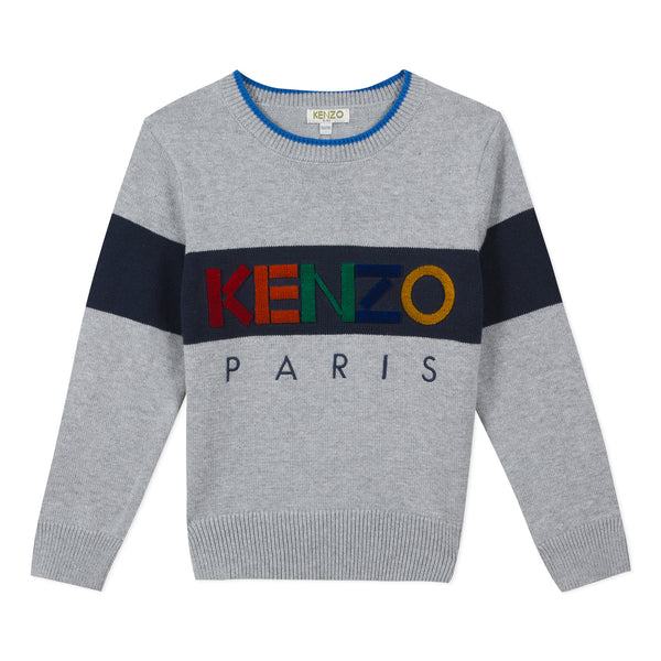 *NEW* Grey sweater with Kenzo logo