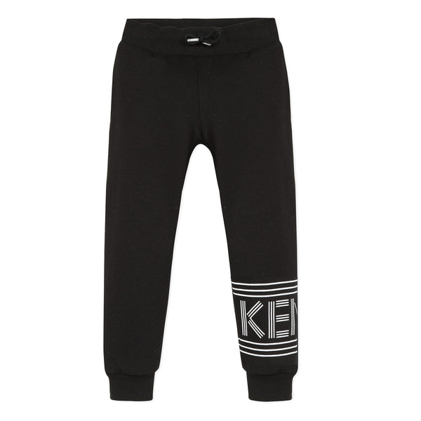 *NEW* Lined black fleece joggers