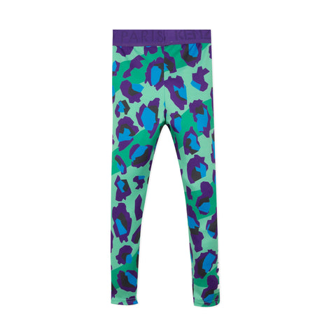 Printed sporty leggings