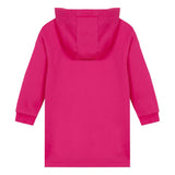 Fuschia pink hooded dress