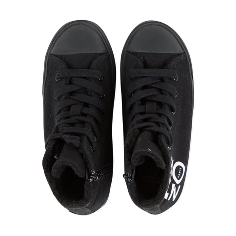 *NEW* Black high-top sneakers
