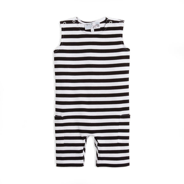 Striped sleeveless one piece