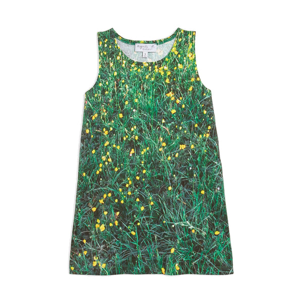 Flower photoprint dress