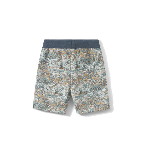 Exclusive liberty fabric bermuda shorts verdigris