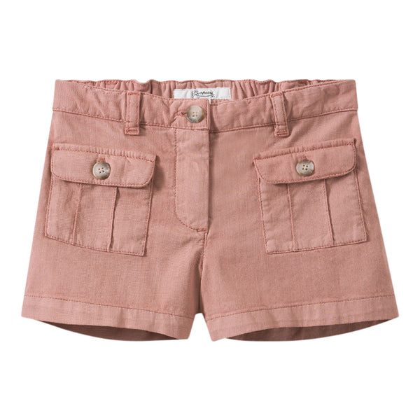 Shorts with flap pockets grenadine