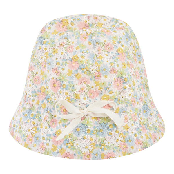 Exclusive liberty fabric hat camellia pink