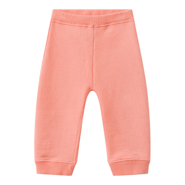 Fleece sweatpants apricot