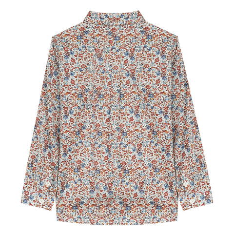 Pearly floral Liberty shirt