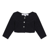 *NEW* Black cropped cardigan