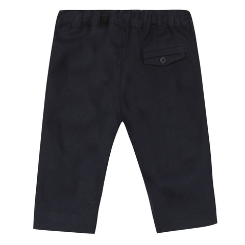 Navy flannel pants