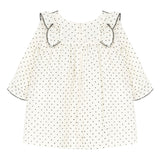 Pearly Swiss dot dress