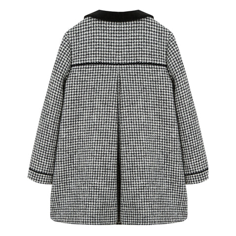 *NEW* Black puppytooth coat