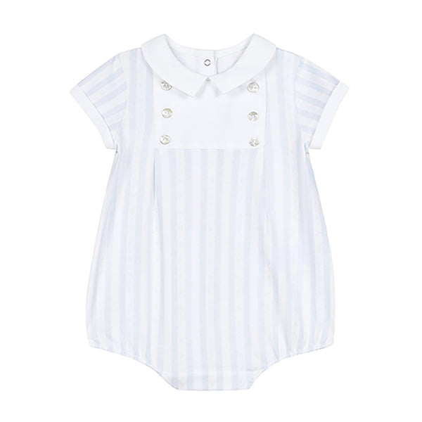 * NEW *  Blue  Garda striped bodysuit
