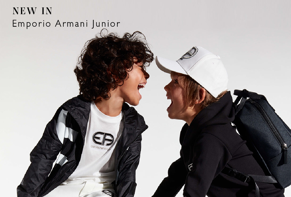 NEW BRAND IN! Discover Emporio Armani Junior SS21 collection