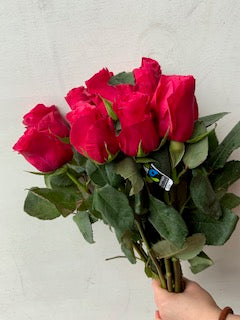 Fairtrade certified red roses