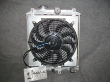 Load image into Gallery viewer, Universal Aluminum 3 Row Racing Radiator & Fan With Shroud Kit