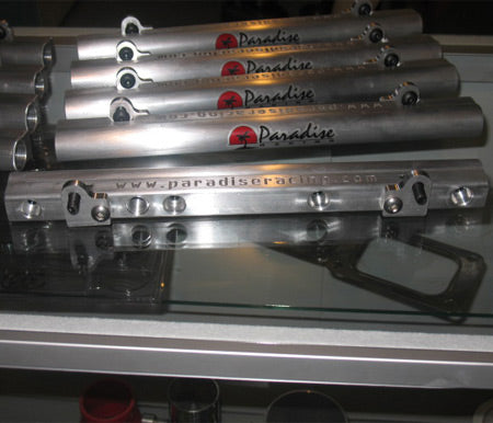 2RZ 3RZ Paradise Racing CNC Machined Fuel Rail Kit