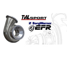 Load image into Gallery viewer, Tial Stainless Steel Vband Housing for Borgwarner Airwerks S400SX3 83mm Turbine Wheel