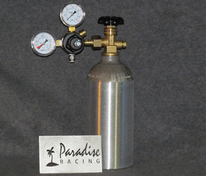 CO2 Kit 2.5lb Bottle with Adjustable Regulator