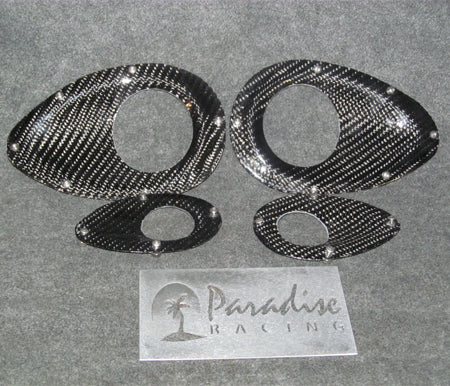 Carbon Fiber Window Bezel Kit
