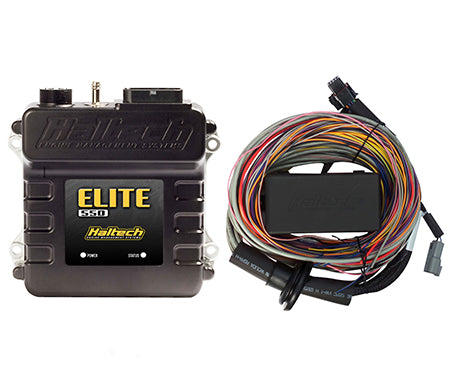 Haltech Elite 550 With Premium Universal Wire-in Harness Kit HT‐150404