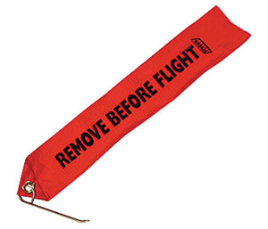 "Stroud Safety Drag Chute ""Remove Before Flight"" Locking Pin & Tag"